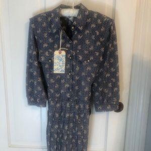 Breli Originals Vintage belted pleated dress